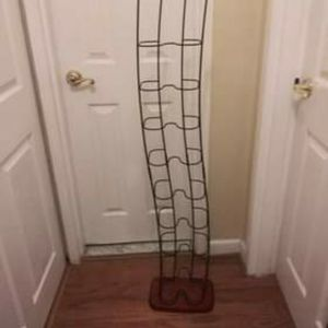 Decorative Metal & Wood DVD Rack for Sale in Montgomery Village, MD