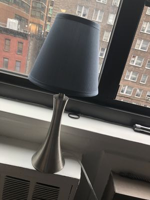 Lamp, lamp shade and led light for Sale in New York, NY