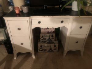 Chic White Desk for Sale in Chevy Chase, MD