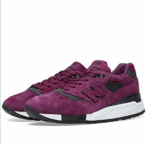 New Balance M998CM Purple Concepts Bodega Kennedy Kith Fieg 999 Solebox New with box for Sale in French Creek, WV