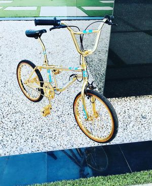 1988 GT pro freestyle tour dipped in gold for Sale in Hawthorne, CA