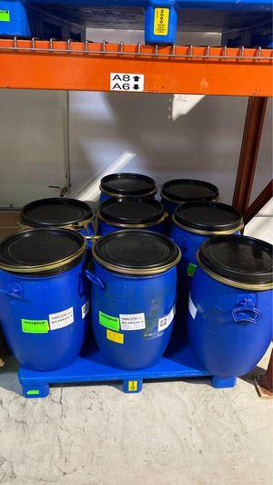 Plastic barrel for Sale in Carlsbad, CA