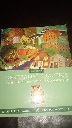GENERALIST PRACTICE TEXTBOOK for Sale in KINGSVL NAVAL, TX