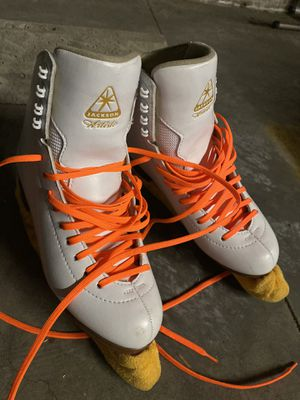 Jackson JS Ultima 1790 artiste ice skates size 7 for Sale in Los Angeles, CA
