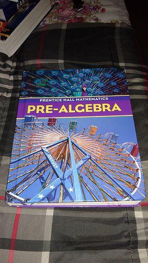 Math Pre algebra textbook for Sale in Lomita, CA