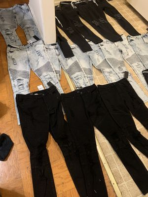 Forever 21 men's jeans 20 $ a piece all sizes for Sale in Camp Springs, MD