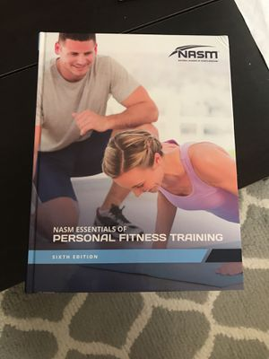 Nasm essentials of personal training 6th edition. for Sale in West Palm Beach, FL