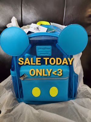 Loungefly Disney Parks Neon Micky backpack for Sale in Grand Terrace, CA