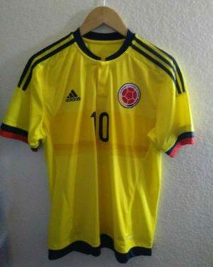 Adidas Columbia #10 James jersey men size medium for Sale in Moreno Valley, CA