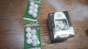 Table tennis balls/ping pong for Sale in Hamburg, PA