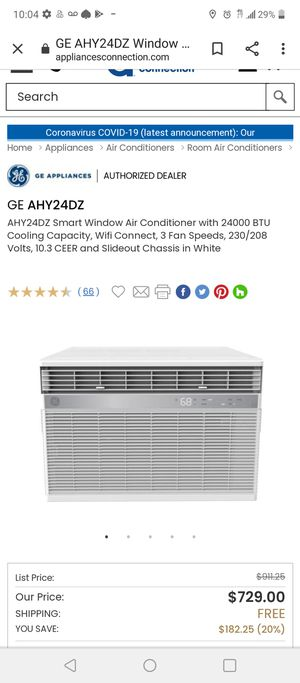 GE 23500 BTU AIR CONDITIONER for Sale in Las Vegas, NV