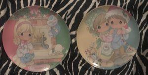 2 precious moments plates for Sale in Billerica, MA