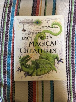 The element encyclopedia of magical creatures for Sale in Peoria, IL