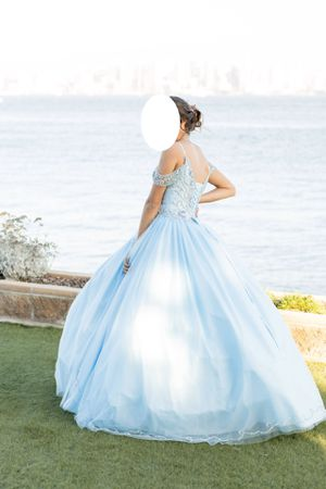 Frost Blue Quinceanera Dress! for Sale in San Diego, CA