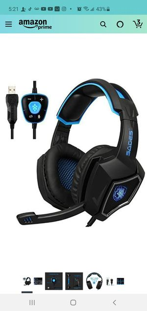Gaming headset for Sale in Indianapolis, IN