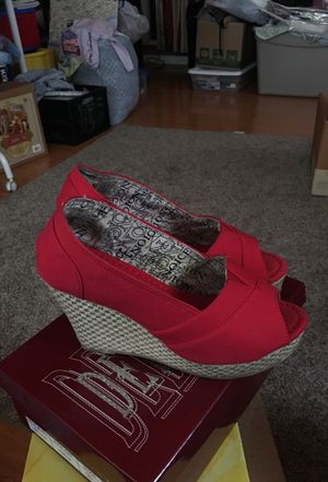 Red platforms shoes for Sale in Baldwin Park, CA