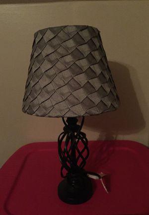 GREY AND BLACK LAMP for Sale in Mechanicsville, VA