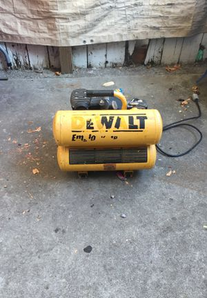 Dewalt compressor for Sale in San Leandro, CA