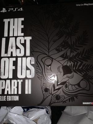 Last of us 2 Ellie Edition PS4 (Not a Console) for Sale in Annandale, VA