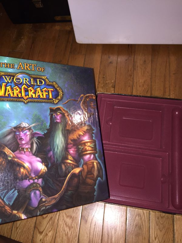 World of Warcraft vanilla BOX and art book ONLY