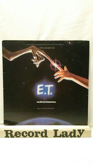 """Steven Spielberg Film """"E.T. Soundtrack"""" vinyl record for Sale in San Diego, CA"""