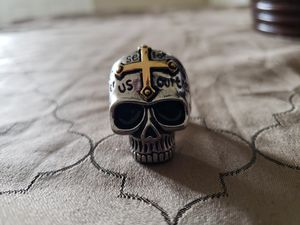 Lords prayer skull ring for Sale in San Antonio, TX