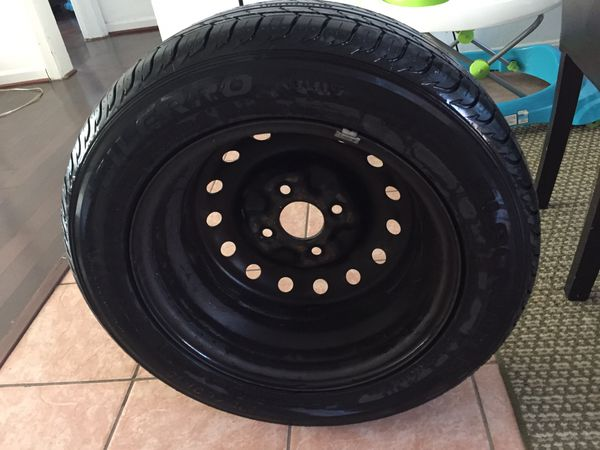 Tire with Rim . New