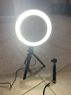NEW Ring Light Selfie for bedroom bathroom closet mirror camera photography makeup vanity Valentines for Sale in Henderson, NV