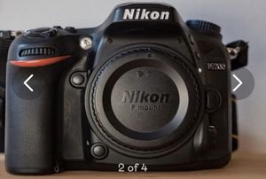 Like new Nikon d7200 Camera. Less than 100 shutter count. Brand new carrying case Case 50 dollar value extra battery included sd card as well. for Sale in Miami, FL