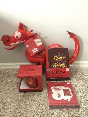FEBRUARY DISNEY WISDOM MUSHU SET! for Sale in Wildwood, MO