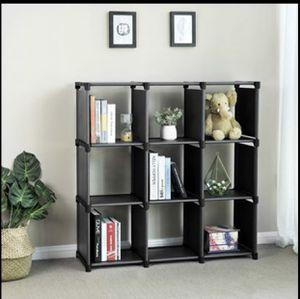 9 Cube DIY Storage Shelves Open Bookshelf Closet Organizer Rack Cabinet Office Organizer for Sale in Frisco, TX
