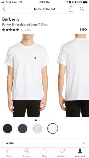 Burberry Parker Embroidered Logo T-Shirt for Sale in Santee, CA