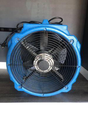 B-Air PB-25 Polar Bear Blue Axial Fan High Velocity Air Mover - 1/4 hp for Sale in Glendale, AZ