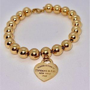 18k Gold Ball Bracelet for Sale in East Brunswick, NJ