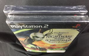 PlayStation 2 Lot NFL Street 3 Nightmare before Xmas Rare for Sale in Wichita, KS