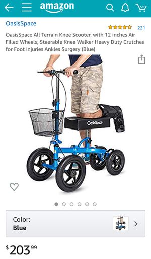 OasisSpace Knee Scooter for Sale in Linden, NJ