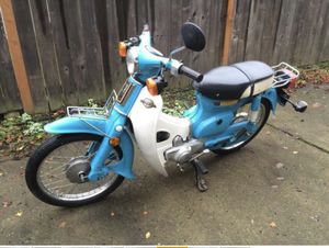 1981 Honda C70 Scooter Motorcycle for Sale in Poulsbo, WA