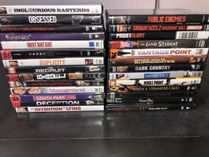 27 Movies for $50 from HOLLYWOOD VIDEO. That's less than $2 a movie (PRICE IS FIRM) for Sale in Castro Valley, CA