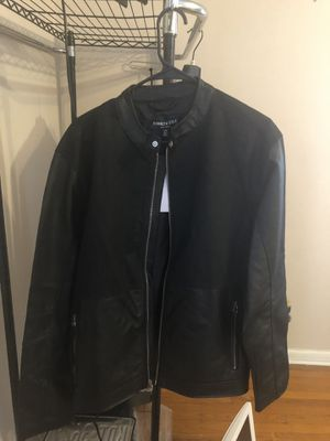 Kenneth Cole Men's Leather Jacket Size Large for Sale in MIDDLE CITY WEST, PA