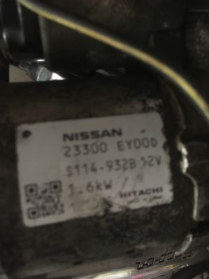 2013 infiniti M37 starter like new Works 100% for Sale in Brooklyn, NY