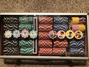 Phill Hellmuth Professional Poker chips for Sale in Peoria, AZ