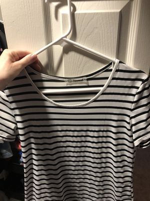 White and black striped dress for Sale in Woodburn, OR