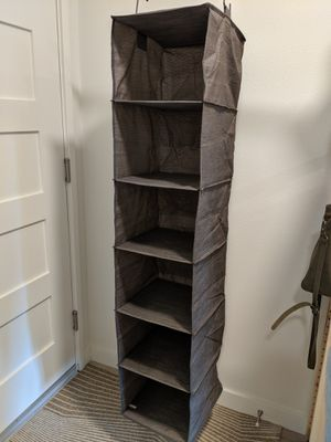 Hanging Closet Organizer for Sale in Seattle, WA