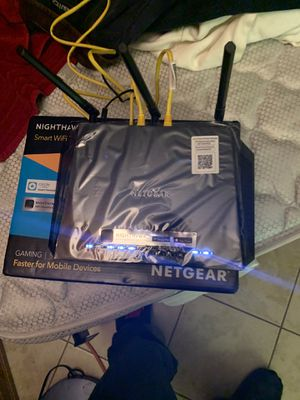Nighthawk ac1750 smart WiFi router # 1 of its kind 130$ for Sale in Portland, OR