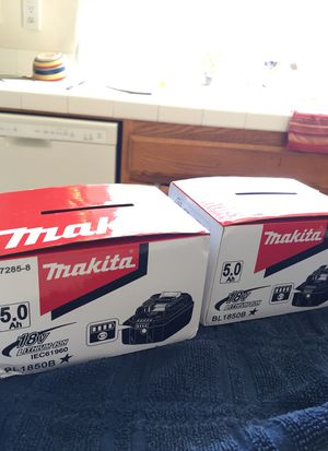 Makita electric drill battery for Sale in Oceanside, CA