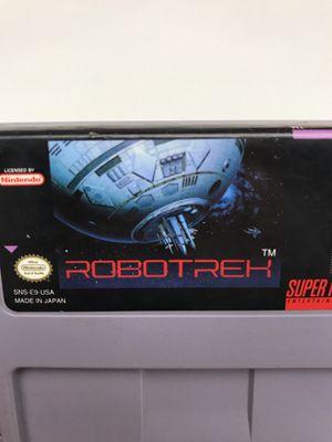 Robotrek Super Nintendo SNES for Sale in Snohomish, WA