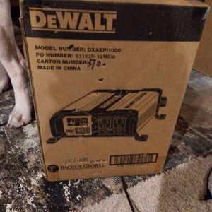DeWalt 1000watt Power Inverter for Sale in Warminster, PA
