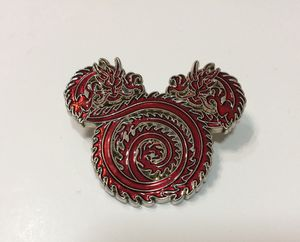 Disney Collectible Trading Pin Mickey Mouse Dragon for Sale in Memphis, TN