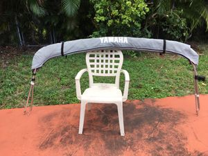 Yamaha Bimini top. With 85 inch And 39 inch. High for Sale in Hialeah, FL