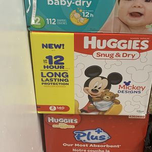 diapers size 2 bundle for Sale in Itasca, IL